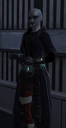 SWTOR Agent Companion: Kaliyo Djannis