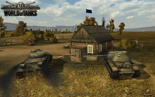 Tanks. In World of Tanks.