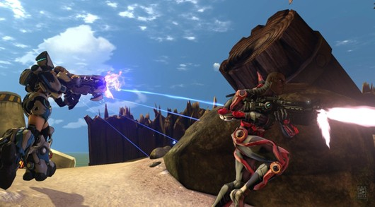 Firefall beta screenshot