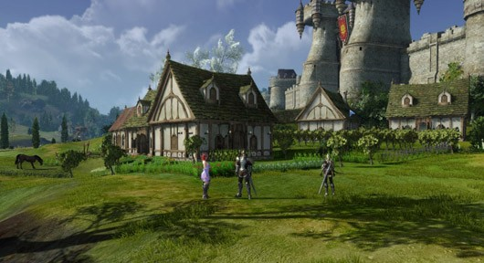 ArcheAge - player housing