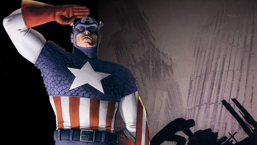 Marvel Heroes - Captain America art, probably not from Marvel Heroes