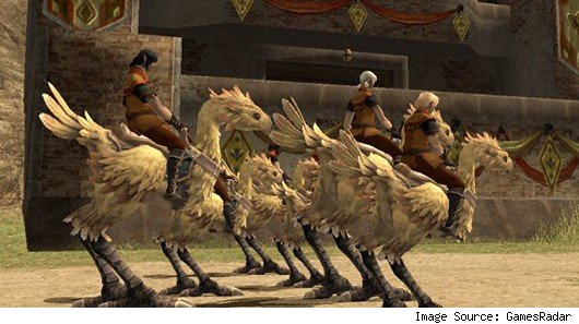 Final Fantasy XI - Chocobo race