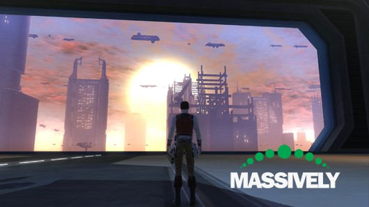 Star Wars: The Old Republic - Coruscant hangar