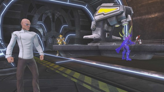 DC Universe Online - Huge Strange likes to craft