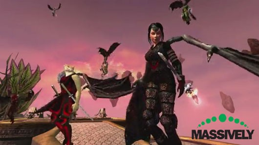 EverQuest II - Players with wings, yes, really
