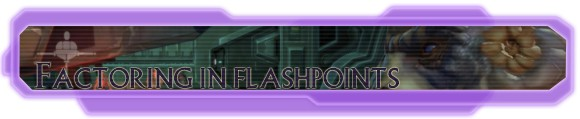 Hyperspace Beacon: Factoring in flashpoints