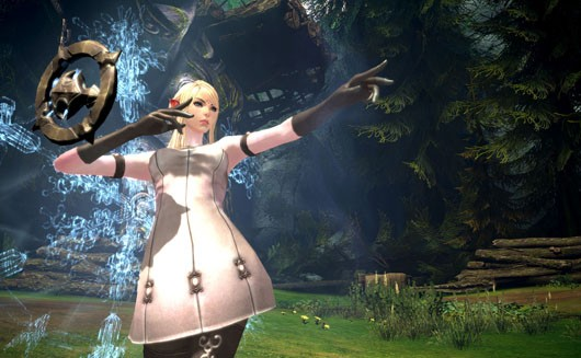 TERA - High elf sorceress