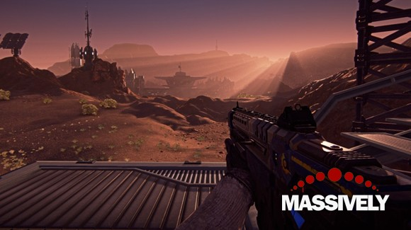 PlanetSide 2 - first person view