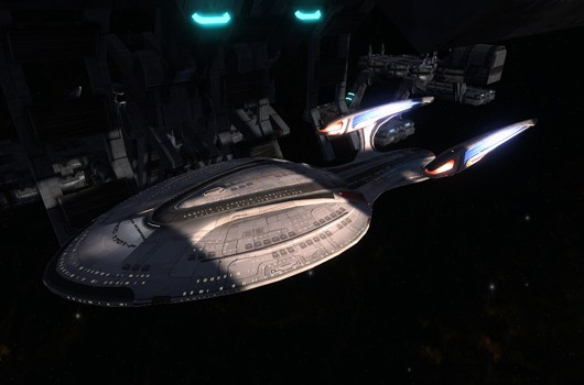 Enterprise F Dry Dock