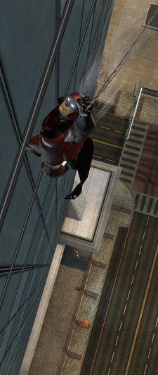 DC Universe Online - traveling by zipline