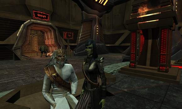 Qo'NoS Worf &amp; Morrigan