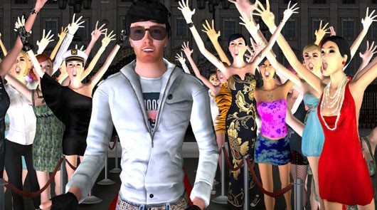 Twinity - Avatars partying