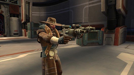 Star Wars: The Old Republic - some smuggler who looks like John Marsden