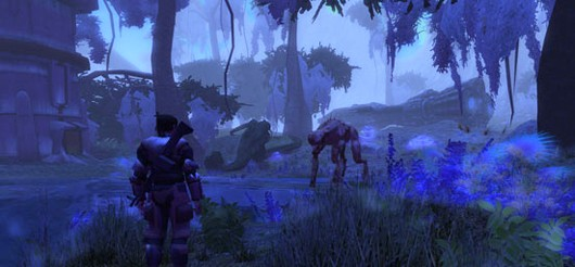 The Repopulation - there's a lot of blue in this screenshot