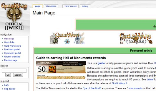 The Guild Wars wiki