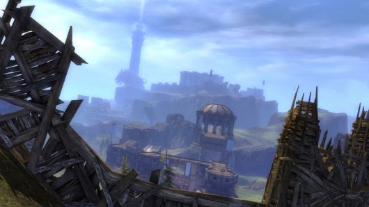 Guild Wars 2 World vs World keeps
