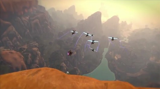 Firefall - power-gliding