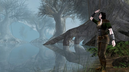Lord of the Rings Online - Thinglad swamp