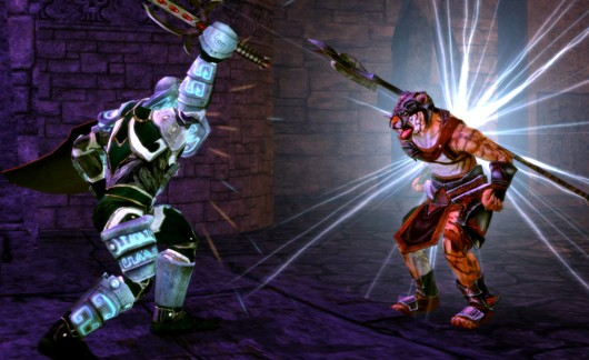 Dungeons and Dragons Online - Web of Chaos mobs