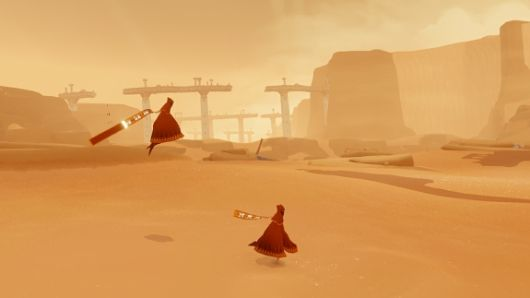 Screenshot -- Journey (thatgamecompany)