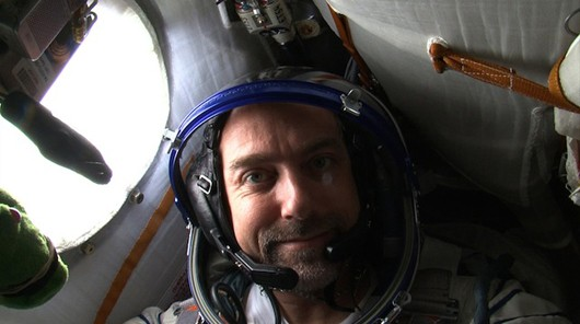 Richard Garriott in space
