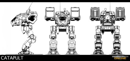 Concept Art -- MechWarrior Online
