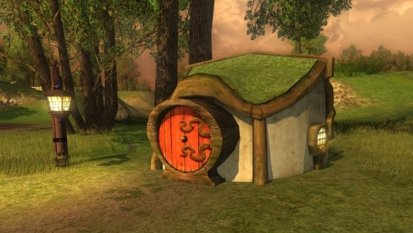 Very tiny hobbit house