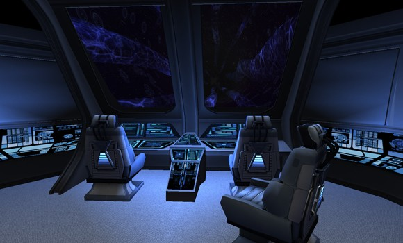Shuttle interior