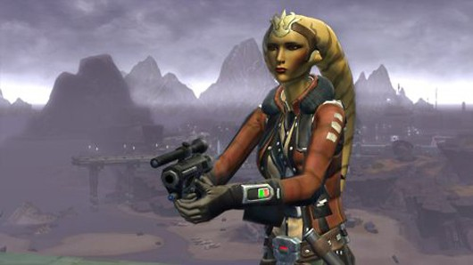 Star Wars: The Old Republic - Twi'lek Smuggler girl