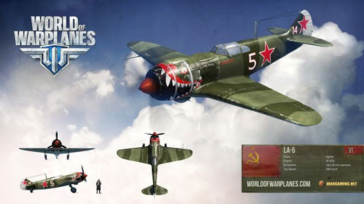 World of Warplanes - La5 render