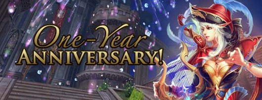 Forsaken World - One year anniversary banner