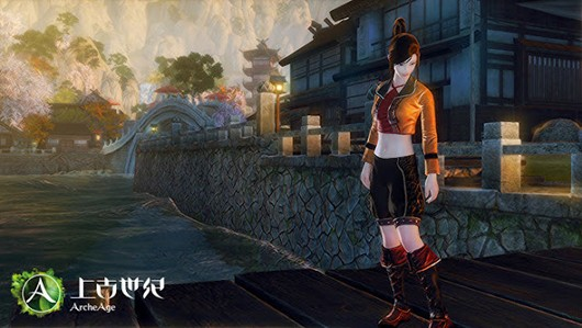 ArcheAge - Chinese city and costumes incoming