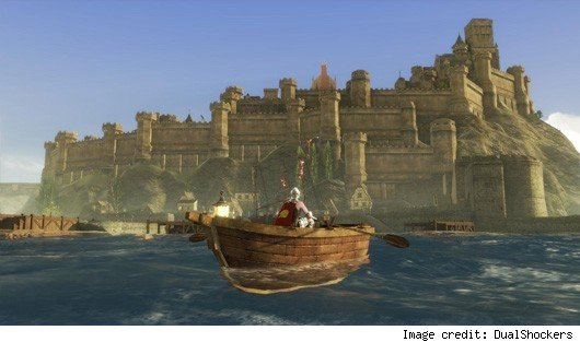 ArcheAge - dude in a rowboat