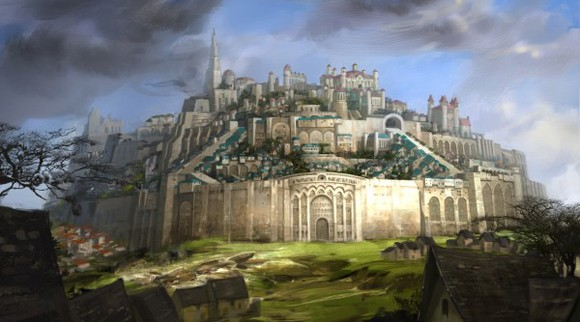 Guild Wars 2 - Divinity's Reach concept art