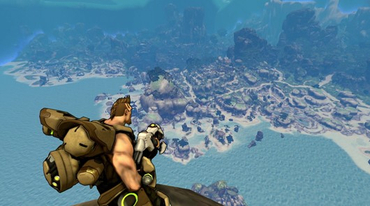 Firefall - the view from Mushroom Island