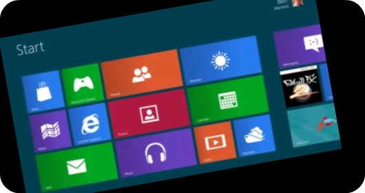 Windows 8 preview screenshot