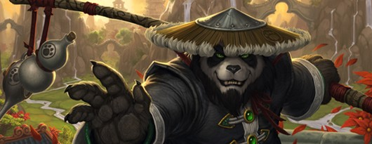 World of Warcraft - Kung fu panda fighting