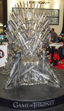 Photo of the Iron Throne