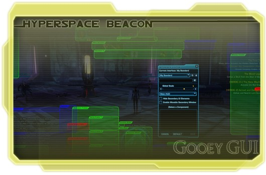 Hyperspace Beacon: Gooey GUI