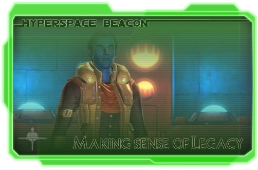 Hyperspace Beacon: Making sense of Legacy