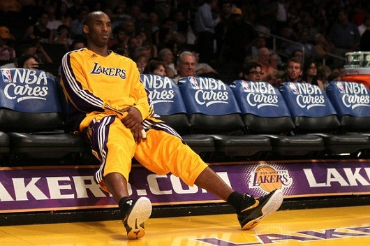 Kobe benched
