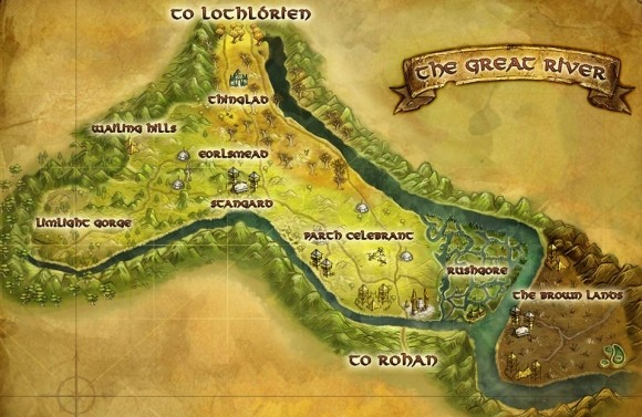 Great River map