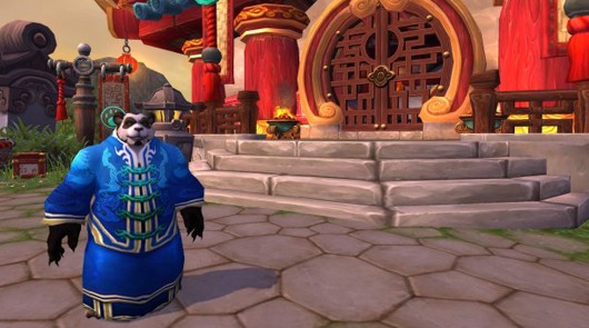 World of Warcraft - Pandaren monk