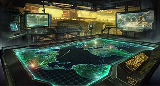 Command &amp; Conquer Tiberium Alliances - concept art