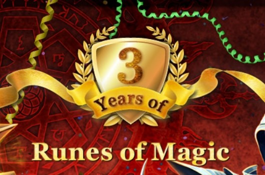 Runes of Magic 3rd B-day image