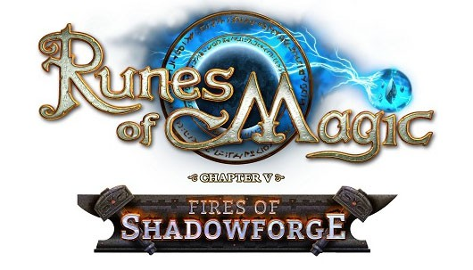 Runes of Magic - Fires of Shadowforge logo