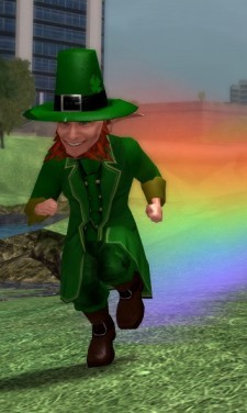 Very few voice chat programs actually require a leprechaun, but it's the only way to keep Ventrillo's chupacabre under control.