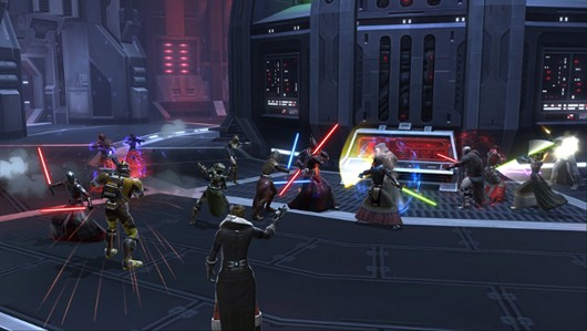 Star Wars: The Old Republic - PvP battle