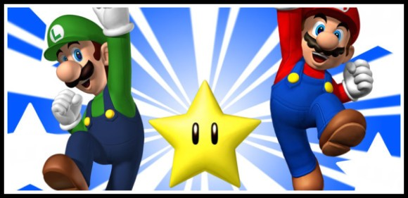 Mario Brothers banner