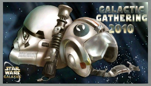 Star Wars Galaxies - 2010 Galactic Gathering painting